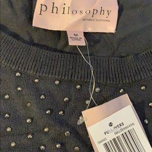 Philosophy short sleeve blouse